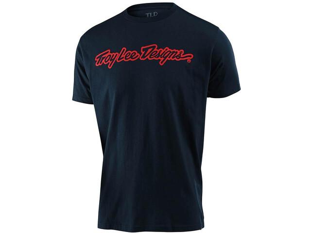Troy Lee Designs Signature T-shirt, blauw